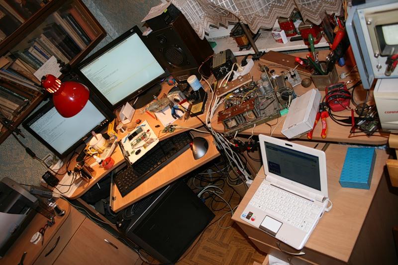 Фотографии рабочих мест хабровчан