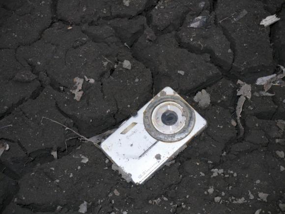 Фотографии с карты памяти, пережившей две зимы на улице