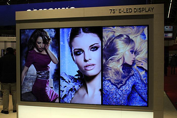 Фотоотчёт с выставки ISE — экраны, экраны и ещё экраны