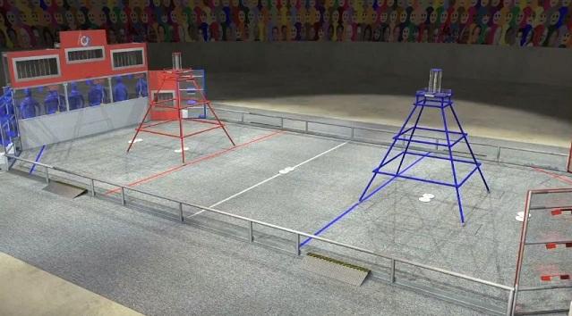 Фрисби для роботов или игры будущих инженеров