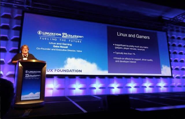 Гейб Ньюэлл: будущее игр — за Linux