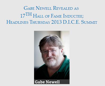 Гейб Ньюэлл получил место в зале игровой славы