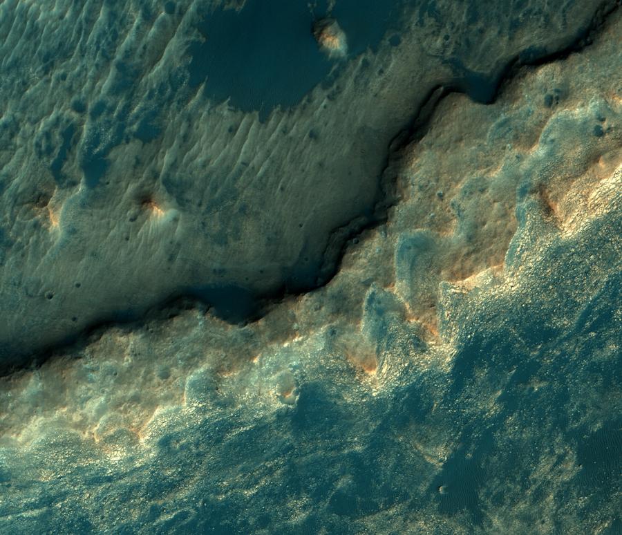 Гематитовый хребет — новая надежда астробиологов