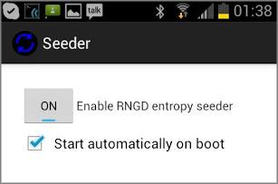Генератор энтропии Seeder 1.1 существенно уменьшает лаги на Android устройствах