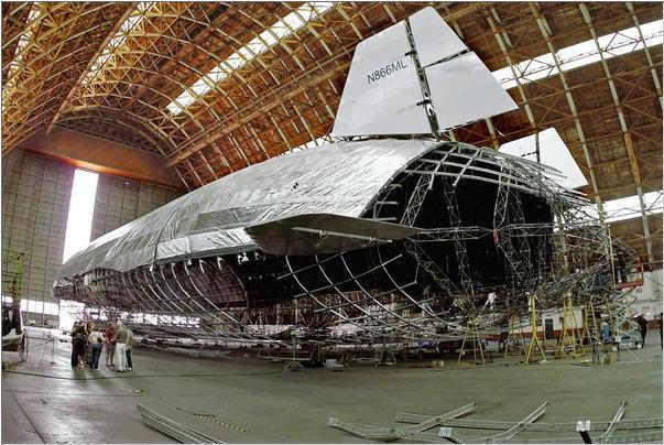Гибридный самолет дирижабль успешно прошел первые испытания