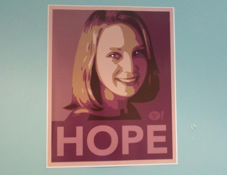 Гик королева Yahoo: противоречивые результаты первых полутора лет