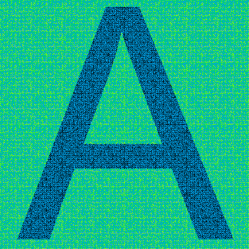 Голографические свойства бит реверсивной перестановки