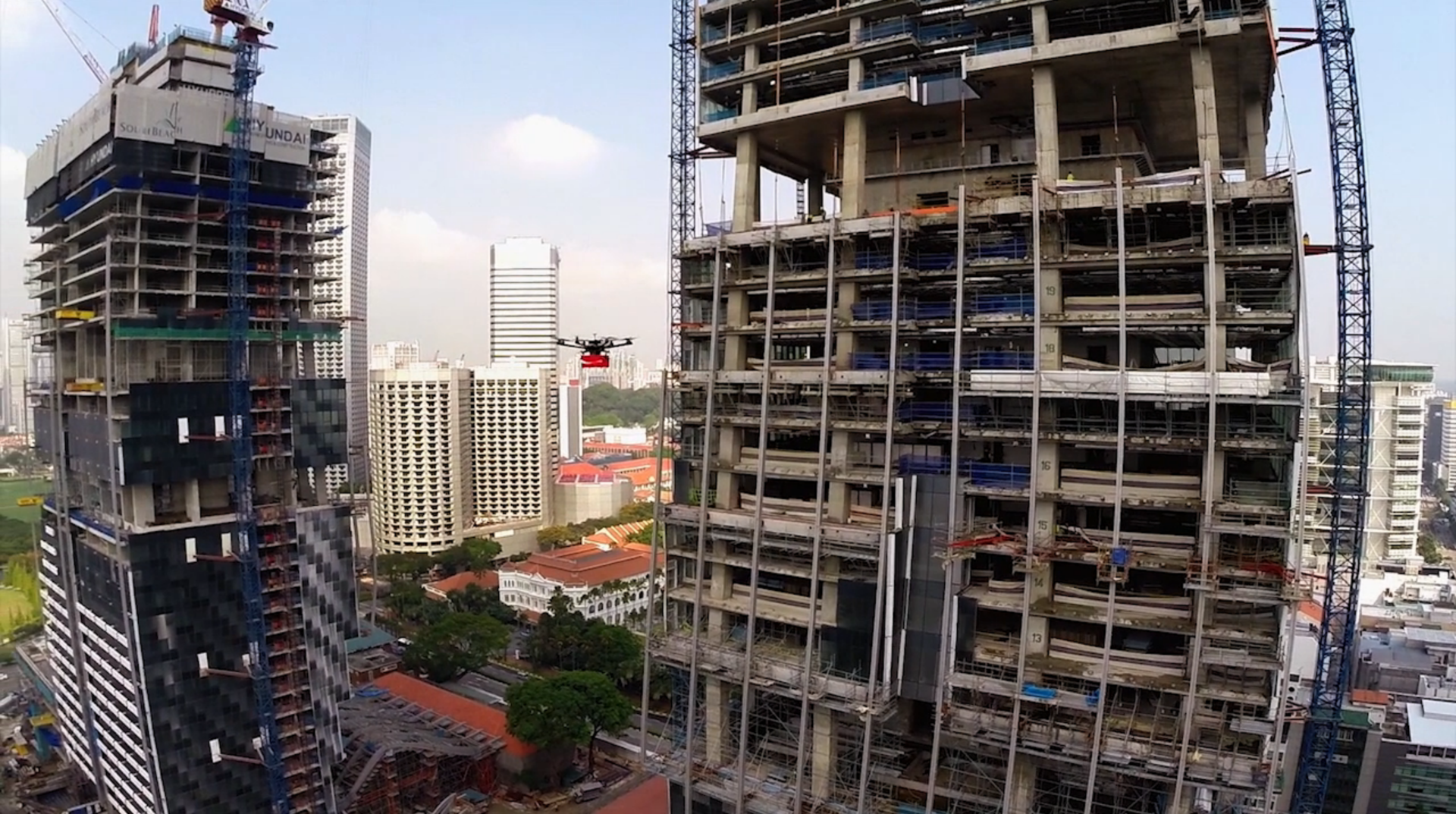 Городские дроны и умные города