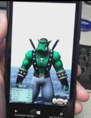 Графический движок Ogre3D теперь поддерживает Windows Phone 8!