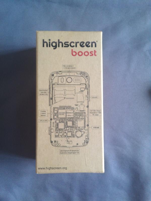 Хабраобзор Highscreen Boost – пять дней без розетки (осторожно — женский взгляд!)
