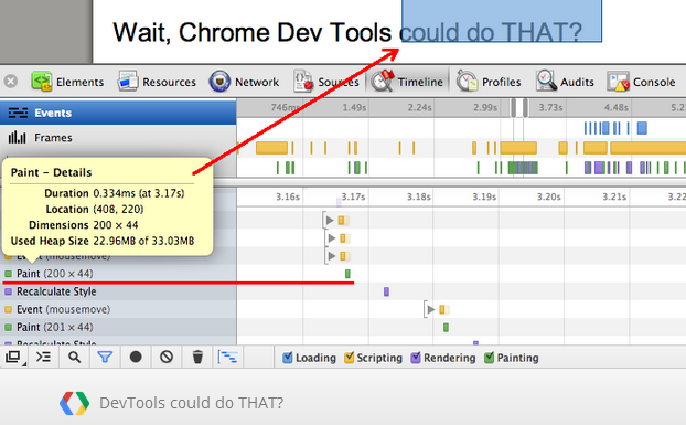 Хитрости Chrome DevTools
