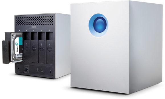 Хранилища LaCie 5big с интерфейсом Thunderbolt 2 будут доступны объемом 10, 20 и 30 ТБ уже в этом квартале