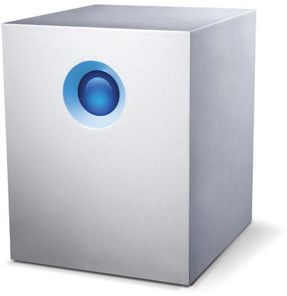 Хранилище с сетевым подключением LaCie 5big NAS Pro ориентировано на офисное использование