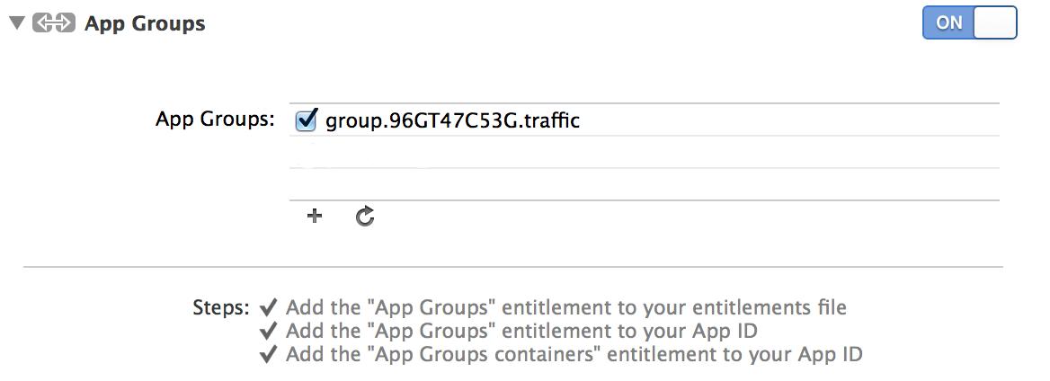 iOS8 — Widgets