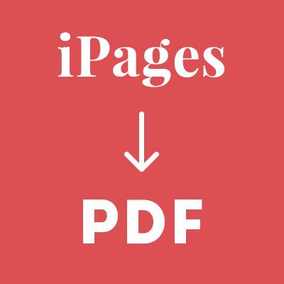iPages в PDF или сервис за 2 часа