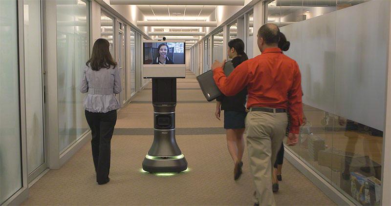iRobot и Cisco вместе сделали робота телеприсутствия