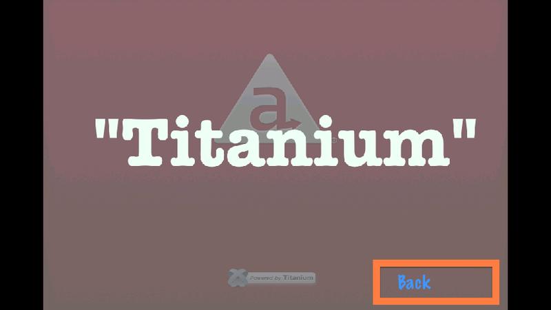 Игра на QuickTiGame2d в Appcelerator Titanium. Часть 2
