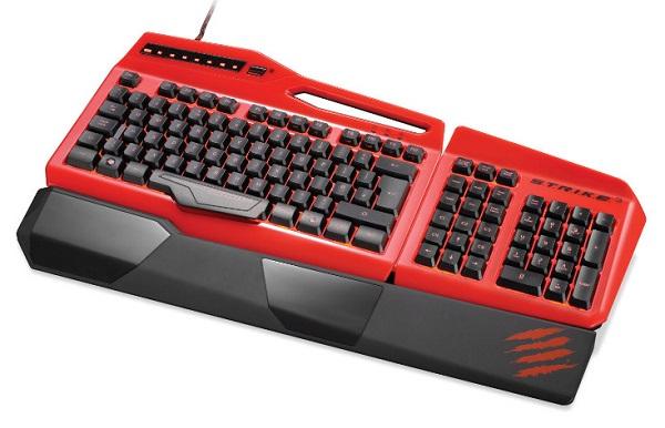 Игровая клавиатура Mad Catz S.T.R.I.K.E. 3