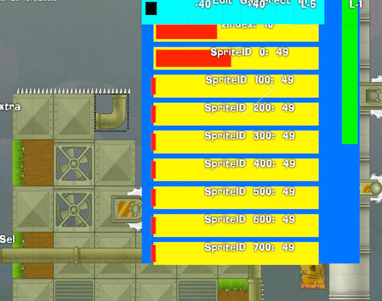 Игровой редактор для платформера — постмортем