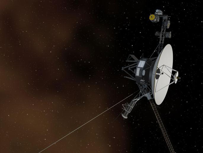 Инфографика Voyager 1: 36 лет в пути, расстояние от Земли 19010023115 км