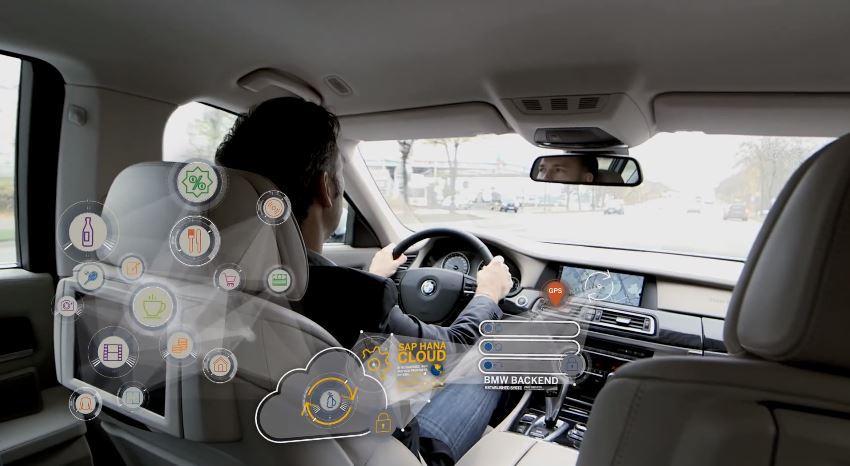 Информационная система для водителей от BMW и SAP