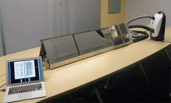 Инженер Google разработал сверхбыстрый сканер — 1000 страниц за 90 минут
