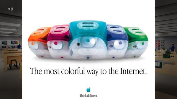 Интерактивная презентация Apple Store