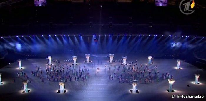 Интересные факты об открытии Олимпийских игр в Сочи