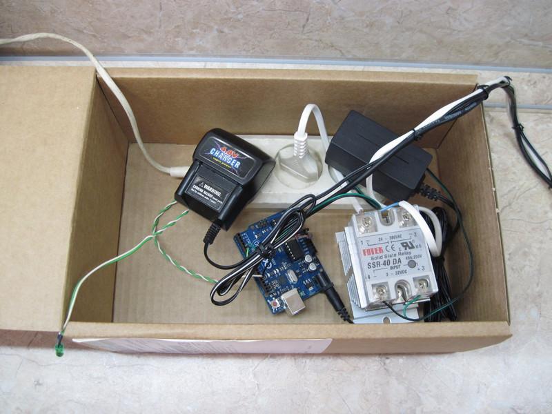 Йогуртница на основе arduino