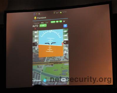 Исследователь продемонстрировал перехват управления самолетом при помощи Android приложения