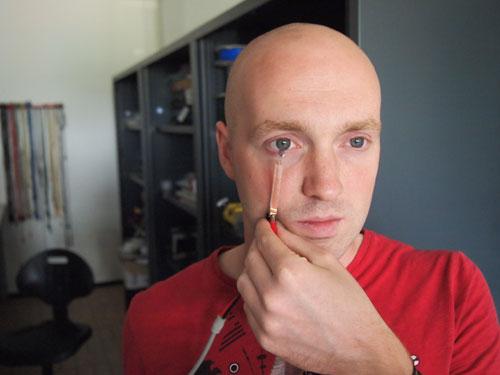Изогнутые ЖК дисплеи могут быть использованы в качестве экранов в контактных линзах