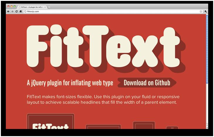 jQuery плагины для удивительной web типографики