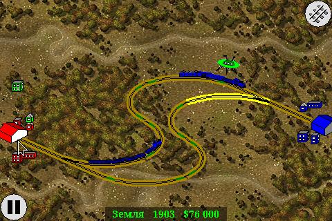 Железная дорога — реминисценция старой игры ShortLine