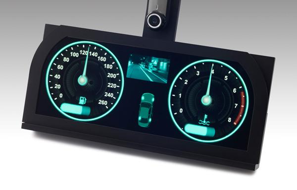 Стереоскопическая панель размером 12,2 дюйма, созданная Japan Display, предназначена для автомобилей