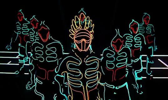 Живой танец под соусом из цифровых технологий