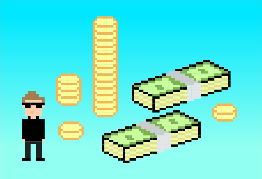8-битные деньги