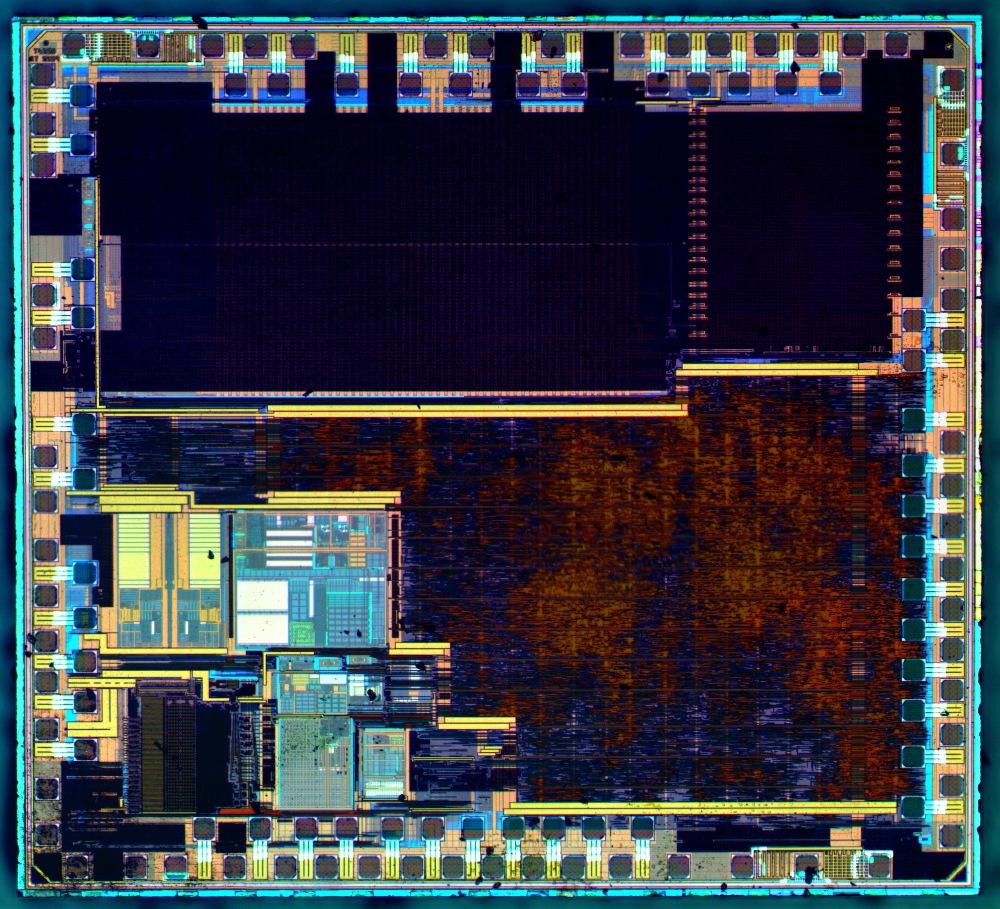 Как «открыть» микросхему и что у неё внутри?
