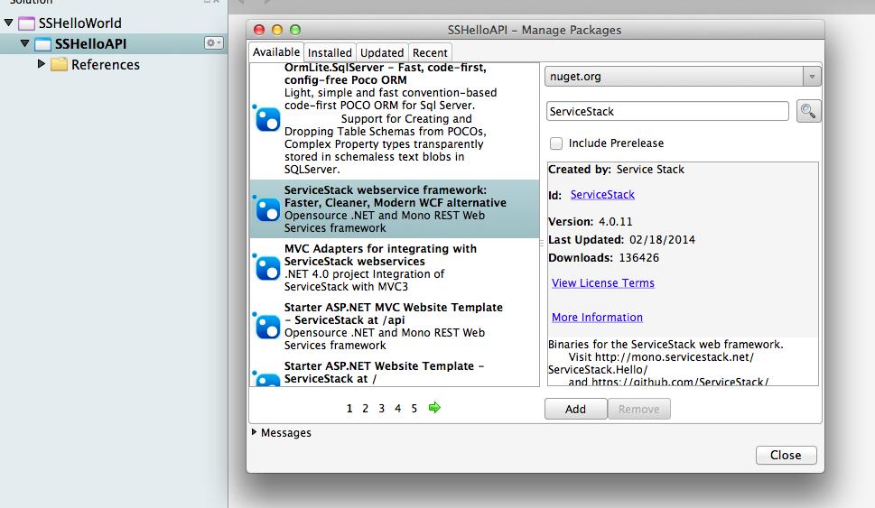 Как ServiceStack помогает поставить разработку веб сервисов на поток