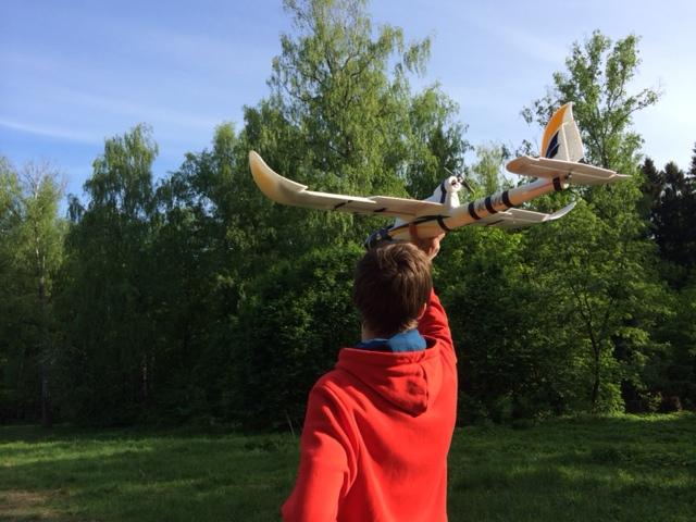 Как мы летающего робота собирали