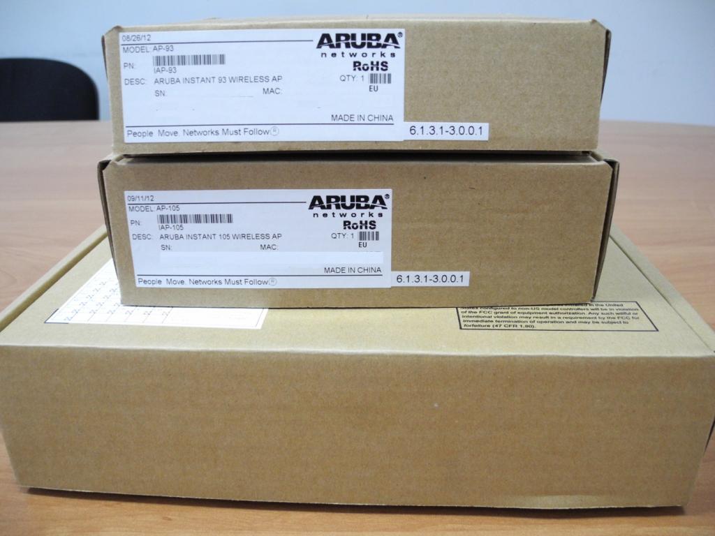 Aruba AP-93, AP-105 и AP-135