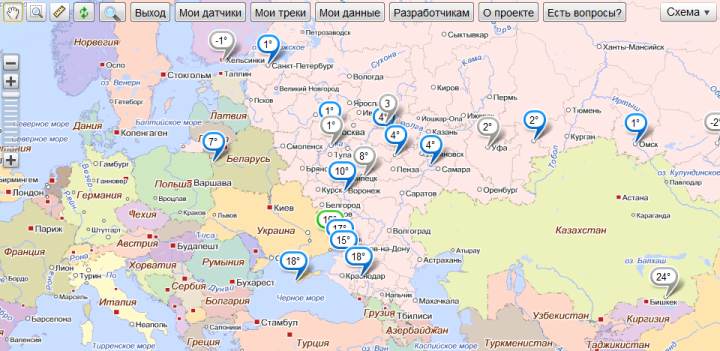 Как просто подключить любой датчик OPC сервера к проекту narodmon.ru