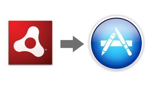 Как собрать Adobe Air приложение для Mac OS AppStore