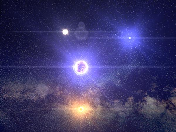 Как выглядят 100 000 звёзд