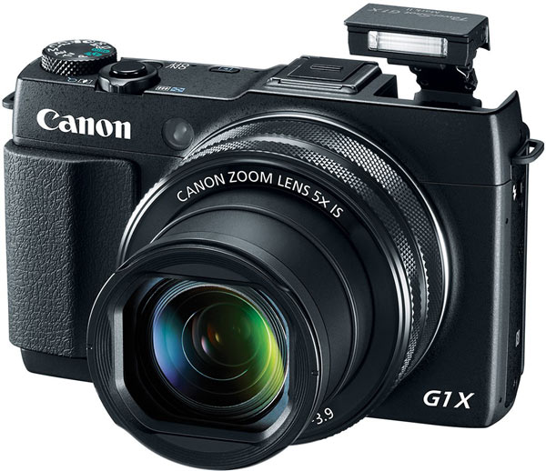 В продаже камера The PowerShot G1 X Mark II должна появиться в апреле по цене $800