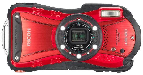 Камера Ricoh WG-20, пригодная для съемки на глубине до 10 метров, стоит $200