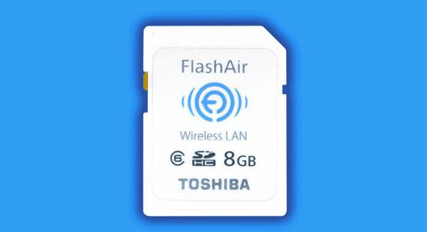 Бесплатное приложение из каталога Apple App Store обеспечивает доступ к карточкам памяти Toshiba FlashAir