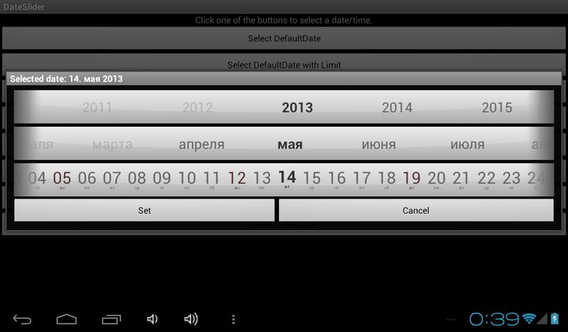 Кастомизация Android контролов под iOS стиль