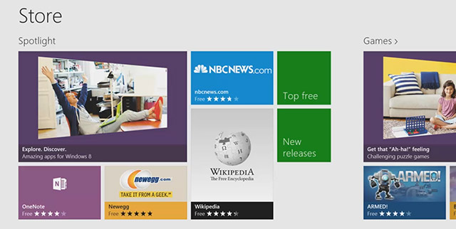 Каталог приложений Windows Store официально открылся с 7873 приложениями