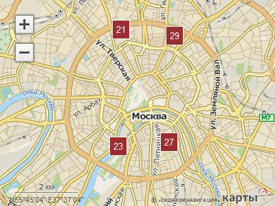Кластеризация в API Рамблер Карт