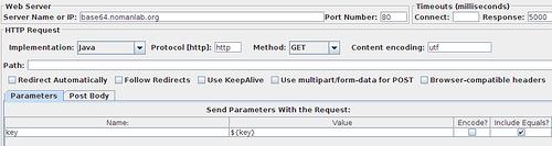 Кодируем на лету в base64 и стреляем в MongoDB из JMeter с помощью BeanShell